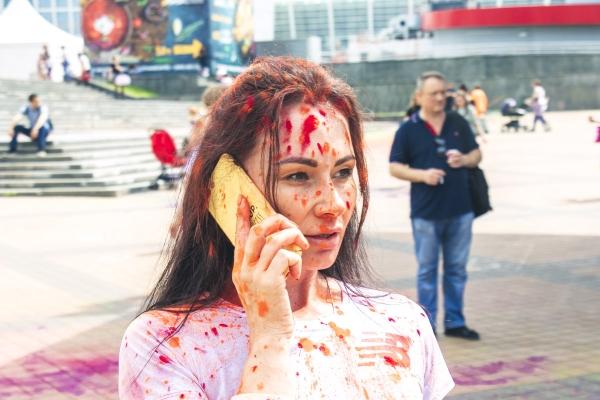 1f742c65b44123 У центрі Києва пройшов забіг Kyiv Color Run 2019 (фото, відео ...