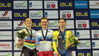 Photo of Львівська велогонщиця Олена Старікова здобула дві медалі на чемпіонаті Європи