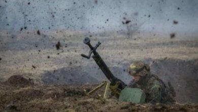 """Photo of Бойовики 10 разів порушили """"режим тиші"""" на Донбасі, поранений український військовий, – штаб"""