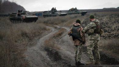 Photo of У п'ятницю на фронті поранено українського військовослужбовця, – штаб ООС
