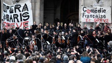Photo of Оркестр опери Парижа підтримав протестувальників і зіграв прямо на вулиці: відео