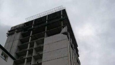 Photo of На території «Кінескопу» обвалилась стіна новобудови
