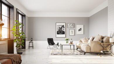 Photo of Вітальня в сірому кольорі: відтінки та особливості такого вибору – фото