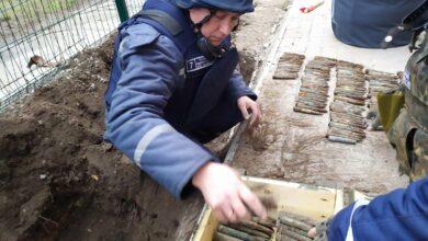 Photo of Схованку з боєприпасами знайшли біля школи на Запоріжжі: фото