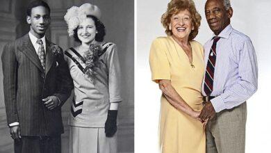 Photo of Сім'я 70 років тому вигнала дівчину, яка вийшла заміж за чорношкірого хлопця: історія пари