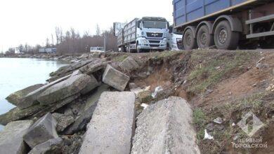 Photo of Буревій сильно пошкодив Хаджибейську дамбу: велика частина Одеси потрапила під удар