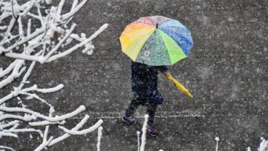 Photo of Погода на сьогодні: В більшості областей пройде дощ з мокрим снігом