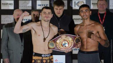 Photo of Український боксер Берінчик переміг у бою з аргентинцем Сармієнто, захистивши свій титул WBO International