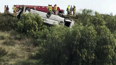 Photo of В американському штаті Каліфорнія перекинувся автобус: троє людей загинули, 18 поранено