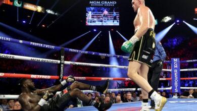 Photo of Тайсон Ф'юрі нокаутував Вайлдера в реванші і став новим чемпіоном світу WBC