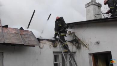 Photo of Під час пожежі на Пасічній вогнеборці врятували бабусю