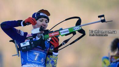 Photo of Українські біатлоністки здобули «бронзу» в естафеті на чемпіонаті світу