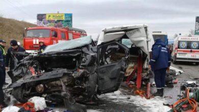 Photo of На об'їзній дорозі Львова – потужна ДТП: зіткнулись одразу шість авто