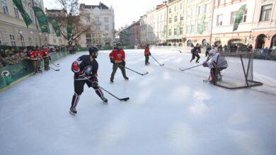 Photo of На ковзанці на площі Ринок відзначатимуть День хокею