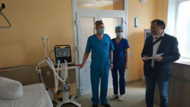 Photo of 8-ма міська лікарня Львова отримала ще один апарат штучного дихання