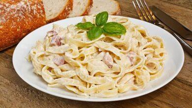 Photo of Як приготувати пасту карбонара з куркою: рецепт італійської страви