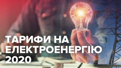 Photo of Тарифи на електроенергію 2020: скільки заплатять українці