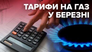 Photo of Тарифи на газ у березні 2020: скільки заплатять українці