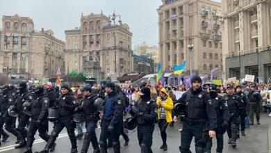 Photo of Нацполіція затримала кількох учасників Маршу проти абортів, серед них Віта Заверуха