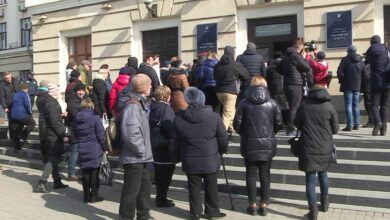 Photo of Підприємці влаштували мітинг у Запоріжжі через заборону торгівлі під час карантину: фото