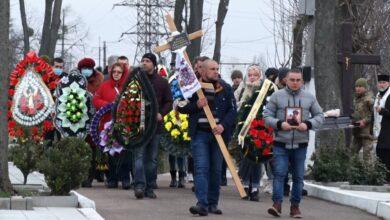 Photo of У Житомирі попрощались із загиблим на Донбасі військовим Олексієм Золіним: відео