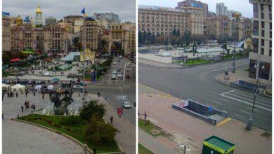 Photo of Як змінилися вулиці міст України під час карантину: фото