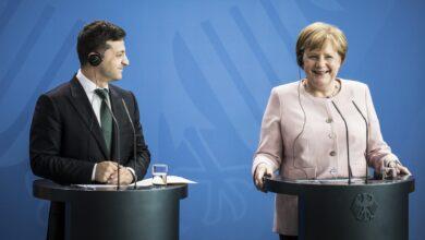 Photo of Зеленський провів телефонну розмову з Меркель