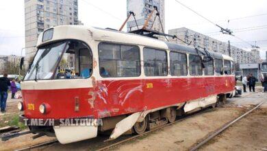 Photo of Вантажівка врізалася в трамвай у Харкові: фото