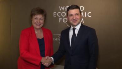 Photo of Зеленський обговорив з главою МВФ Георгієвою збільшення допомоги Україні під час епідемії коронавіруса