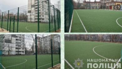 Photo of У Києві поліцейські викрили схему фінансових махінацій щодо будівництва футбольних полів