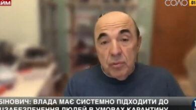 Photo of Рабінович: Просто оголосити карантин – це як вирвана з контексту річ