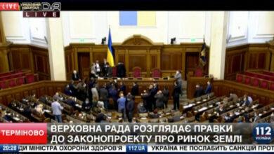 Photo of Закон про землю: ОПЗЖ заявляє, що голосування в Раді є нелегітимним, оскільки в залі знаходяться 136 нардепів