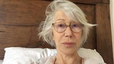 Photo of Оскароносна Гелен Міррен у свої 74 показала фото без макіяжу, щоб привернути увагу до вірусу