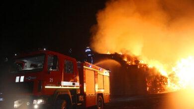 Photo of Масштабна пожежа на Хмельниччині: горів колишній цукровий завод