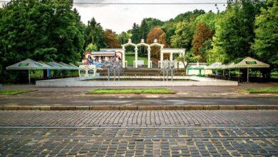 Photo of Як у Парку культури реставрують вхідну арку