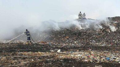 Photo of Вогнеборці погасили пожежу на сміттєзвалищі біля Яворова