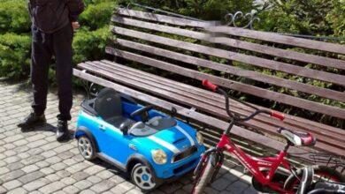 Photo of Рецидивіст поцупив із під'їзду на Пасічній дитячі електромобіль, візок та велосипед