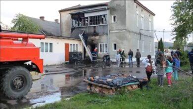 Photo of У Старому Самборі загорілась школа