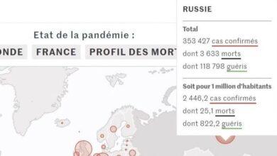 """Photo of У Франції газета Le Monde опублікувала карту з """"російським"""" Кримом"""