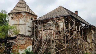 Photo of Наступного тижня стартують роботи з реставрації східної вежі Поморянського замку