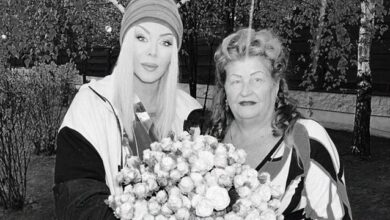 Photo of У Ірини Білик померла мама