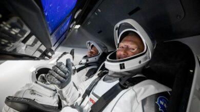 Photo of Корабель Ілона Маска прибув на Міжнародну космічну станцію