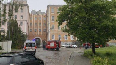 Photo of В Олександрівській лікарні Києва сталася пожежа – 15 людей евакуювали