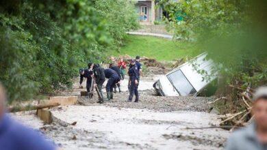 Photo of Під Івано-Франківськом під воду пішла лікарня з хворими на Covid-19