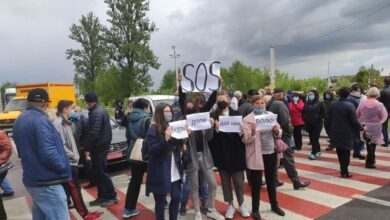 Photo of Мешканці Малехова, Винників та Дублян перекривають дороги через приєднання до Львівської ОТГ