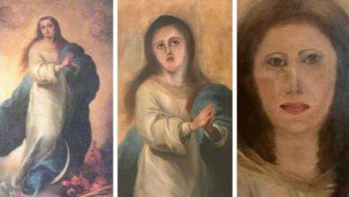 Photo of В Іспанії невдалою реставрацією зіпсували картину епохи бароко