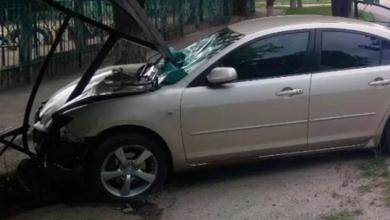 Photo of У Кропивницькому п'яний водії на швидкості протаранив зупинку