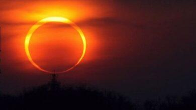Photo of 21 червня українці зможуть побачити сонячне затемнення у вигляді вогняного кільця