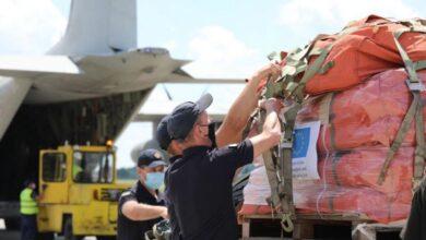 Photo of В аерпорт «Львів» з Італії прибув гумвантаж для постраждалих від паводків