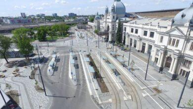 Photo of Площу Двірцеву закривають для руху на три місяці. Схема об'їзду